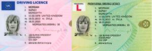 DVLA driving License
